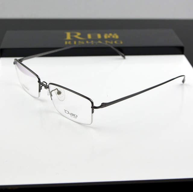 63e81cc1948 14 g Top Quality Slim Ultra Light Eyeglasses Pure Titnaium Men Myopia  Glasses Frames