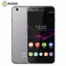 Original oukitel u7 max 5,5 zoll 1 gb ram 8 gb rom 3g WCDMA Quad Core SmartPhone 8MP Android 6.0 MT6580A 2500 mAh Mobile telefon