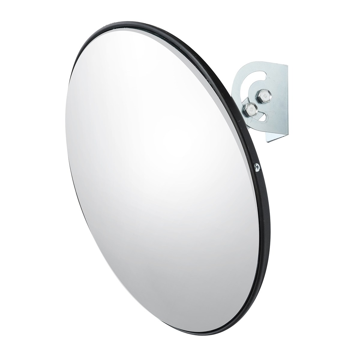 NEW Safurance 45 cm Wide Angle Curved Convex Security Road Mirror For Indoor Burglar Traffic Signal Roadway Safety