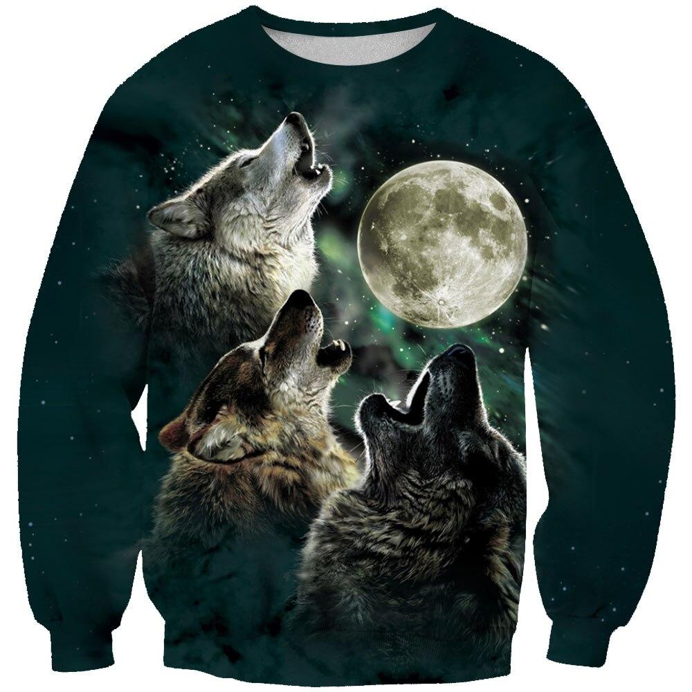 3D Hoodies Tracksuits Men Sweatshirt Jojoesart-Wolf Novelty Brand Pullover Casual Drop-Ship