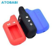 ATOBABI TZ-9010 Silicone Key Case Remote Cover for Tomahawk LCD SL-950 TZ-9030 TZ-9030-24V TZ-9031 T