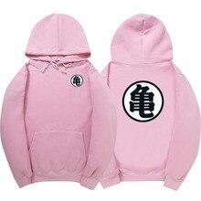WIPU Gute qualität Heißer Dragonball Hoodies Goku Sun Wukong Winter Fleece Herren Sweatshirt Street Rosa Pullover schwarz hoodie