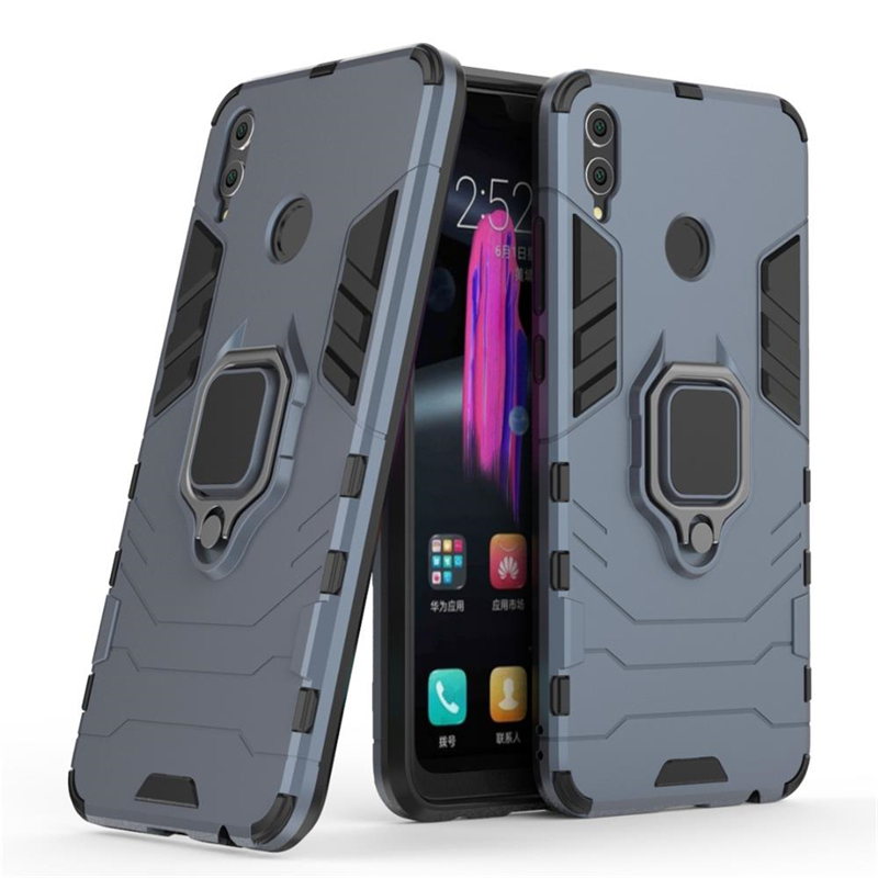 For Huawei Honor 8X Case Huawei Honor 8X Cover 6.5 Magnetic Finger Ring Car Holder Armor Back Cover For Huawei Honor 8X Coque (4)