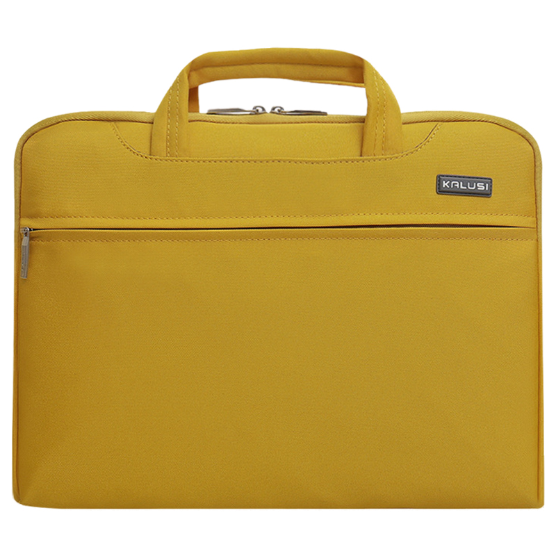 New waterproof arrival laptop bag case computer bag notebook cover bag 11 inch for Apple Lenovo Dell Computer bag(Yellow)