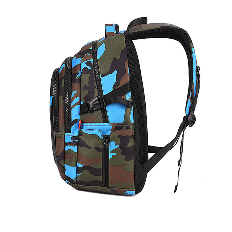 17f0944db7 3 Sizes Camouflage Waterproof Nylon School Bags for Girls Boys Orthopedic  Children Backpack Kids Bag Grade ...