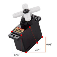 HiTec HS 5065MG High Torque Metal Gear Feather Servo 2.2KG/10g for rc hobby airplane park flyer cars micro helicopter