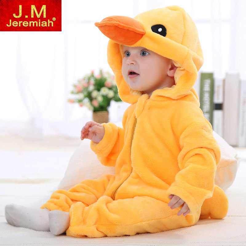 Infant Romper Newborn Baby Clothing Hooded Toddler Baby Clothes Cute Character Romper Baby Costumes Baby Boys Girls Jumpsuit newborn baby rompers baby clothing 100% cotton infant jumpsuit ropa bebe long sleeve girl boys rompers costumes baby romper