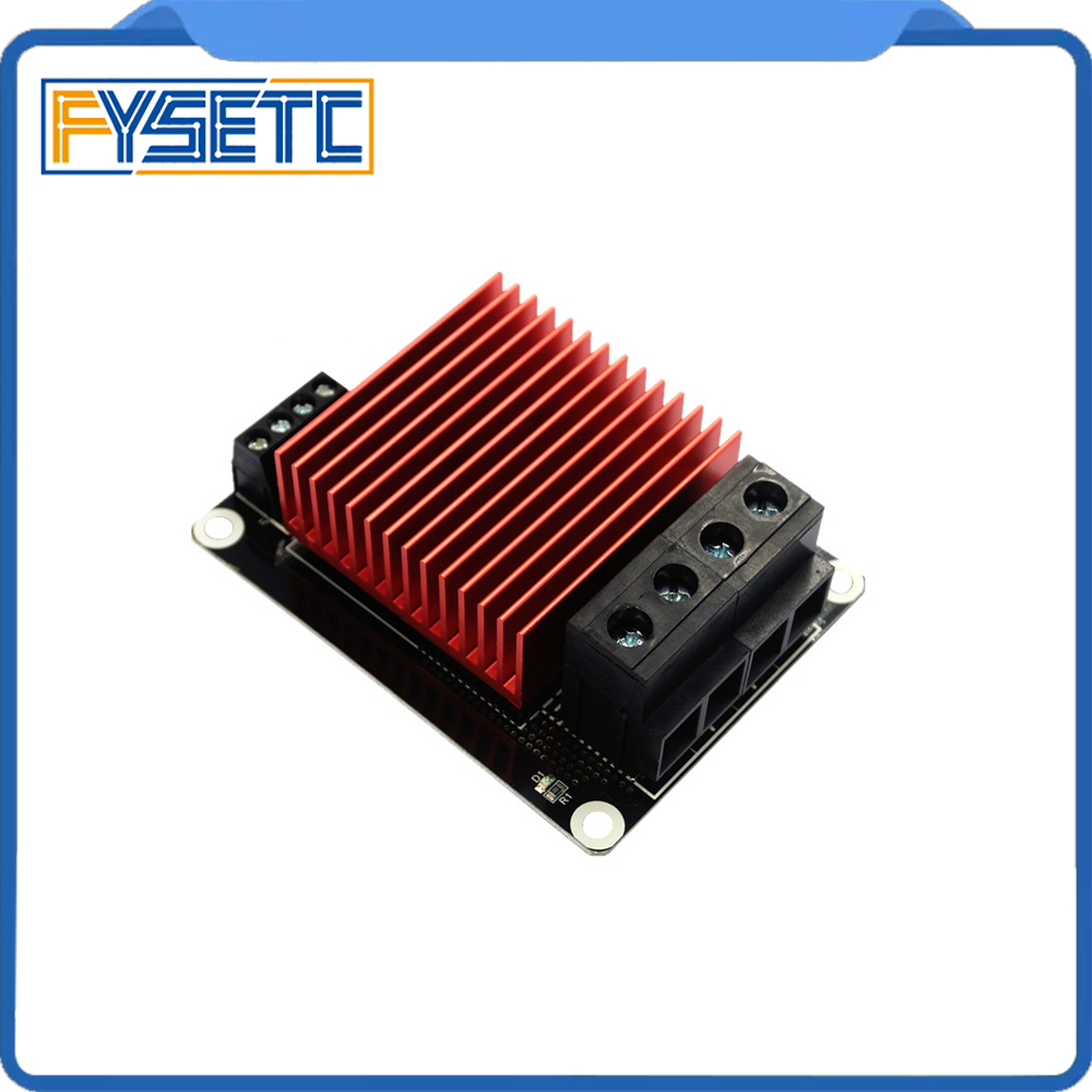 3D Printer Parts Heating Controller MOSFET For Heat Bed extruder MOS Module 30A Support Big Current For TEVO BLV MGN Cube