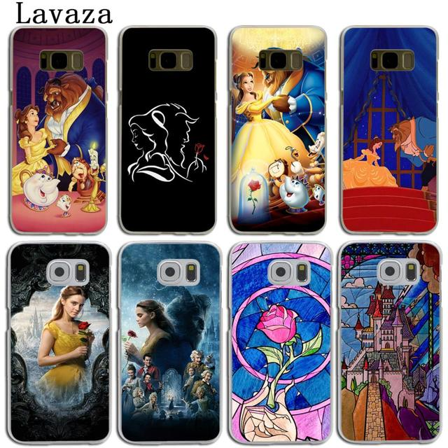 premium selection 4a975 82971 US $1.99 22% OFF Lavaza Beauty and the Beast film Hard Skin Phone Shell  Case for Samsung Galaxy S6 S7 Edge S10 E S10E S8 S9 Plus Cover-in  Half-wrapped ...