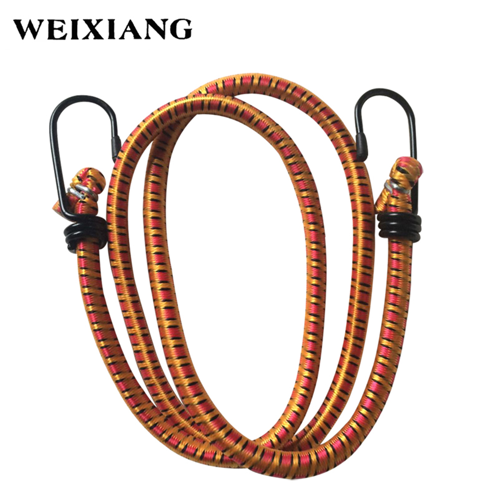 8mm Strong Elastic Cord Rope Tie Down Belt Cargo Luggage Lashing Straps Fix For Motorcycle SUV Car Roof Cargo Outdoor Camping