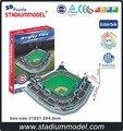 Majorleaguebaseball MLB чикаго кабс главная Wrigley поле стадион 3D головоломка модель бумаги