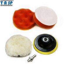 Tasp влажной полировки полировка дрель стайлинга пены колодки pad адаптер автомобилей