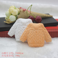 Al por mayor/al por menor, envío libre, p553Creative suéter aroma cera suave vela molde coche colgante de silicona molde herramienta de hornear
