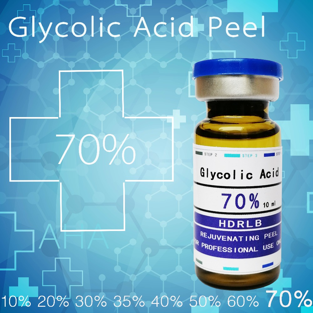 Crazy sales glycolic acid treatment 70% keratosis pilaris Goose Bumps acne vacuum foot Exfoliator dull skin black wrinkle