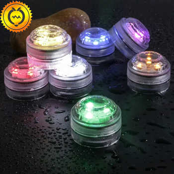 10pcs Fairy Wedding Decoration Waterproof Submersible LED Tea Mini Lights With Battery Christmas Party Halloween Room Vase Lamp - DISCOUNT ITEM  0% OFF All Category