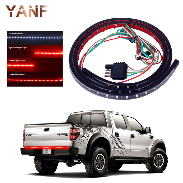 1x22w 49 flexible led car truck tailgate light bar red and white 1x22w 49 flexible led car truck tailgate light bar red and white 12v 72led running audiocablefo