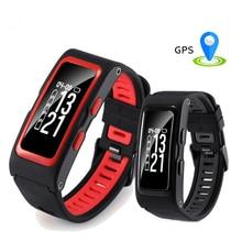 Новый Smart Браслет Поддержка независимых GPS послужной Температура высота сердечного ритма Смарт Браслет фитнес-трекер Браслет