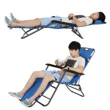 Sun Loungers Outdoor Furniture garden furniture beach chairs tumbona playa plegable camping chair chaise lounge folding bed cheap Modern Ecoz 178*61*30cm metallic framework+Quick dry cotton
