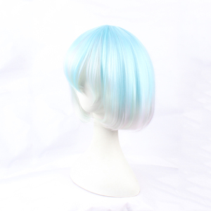 Image 3 - Anime Land of the Lustrous Houseki no Kuni Diamond Short Bob Cosplay Wig Synthetic Hair Halloween Costume Party Play Wigs