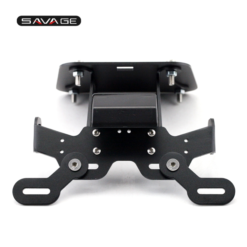 License Plate Holder For <font><b>YAMAHA</b></font> YZF R25 R3 MT-25 <font><b>MT25</b></font> MT-03 MT03 2020 Motorcylce Accessories Tail Tidy Fender Eliminator Bracket image