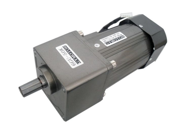 цена на AC 220V 300W Single phase regulated speed gear motor . 300W AC motor with gearbox,