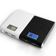 Power Bank 12000mAh USB External Mobile Backup Powerbank Battery for all phone Universal Charger 4 3000mah