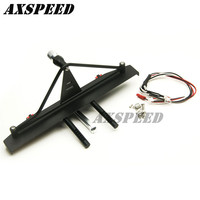 New arrive VR Rear Bumper Winch Mount Shackles For Axial SCX10 90046 1/10 RC Crawler Car