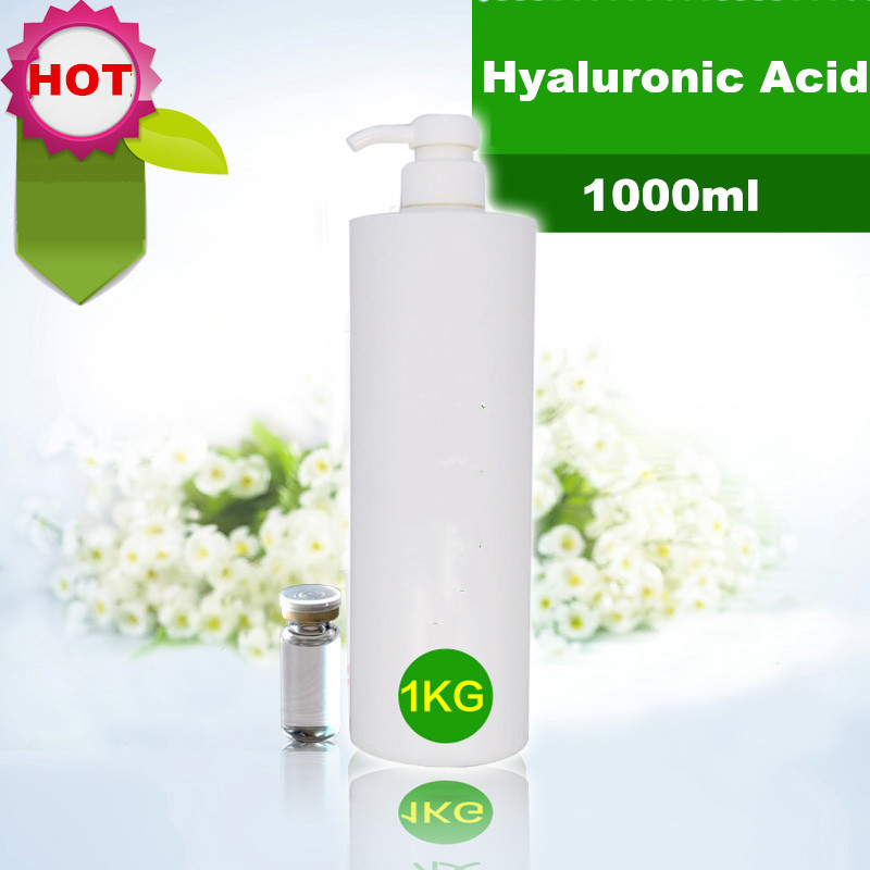 Hyaluronic Acid Liquid Moisturizing 1000ml High Percentage  Anti-Aging Wrinkle Fine Lines BEAUTY SALON EQUIPMENT FREE SHIPPING argireline matrixyl 3000 peptide cream hyaluronic acid ha wrinkle collagen firm anti aging skin care equipment free shipping