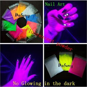 Image 4 - 20 г неоновая пудра флуоресцентный пигмент лак для ногтей фосфорный порошковый флуоресцентный, не светящийся в темноте порошок для макияжа DIY мыло