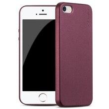 Для iPhone SE 5 5S Матовый Силиконовый Чехол X Уровня Guardian Ultra thin мягкий Матовый Чехол для ТПУ iPhone 5 5S SE Скраб Задняя Крышка