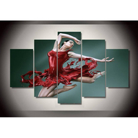 Wine beauty dancer 5 sets picture combination diamond painting full square diamond mosaic embroidery needlework home decor SSTY