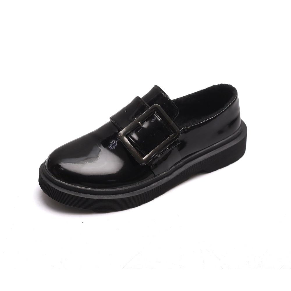 Noir 2018 Venteux Printemps Femmes Rétro Nouvelle Chaussures Automne De angleterre Plat Et wqP6rX7xw