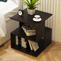 Simple bed multi purpose storage table living room sofa table small coffee table 40X40X43.6CM