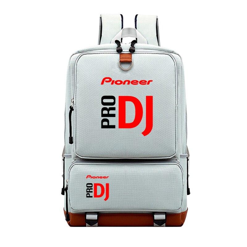 Casual pioneer pro dj diário mochila estudantes