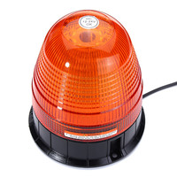 12W LED Flashing Beacon Emergency Warning Lamp LED Strobe Flashing Light Car Vehicle Amber Lamp With