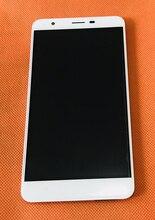 Kullanılan orijinal dokunmatik ekran + LCD ekran + çerçeve Oukitel U15 Pro MTK6753 Octa çekirdek 5.5 inç HD ücretsiz kargo