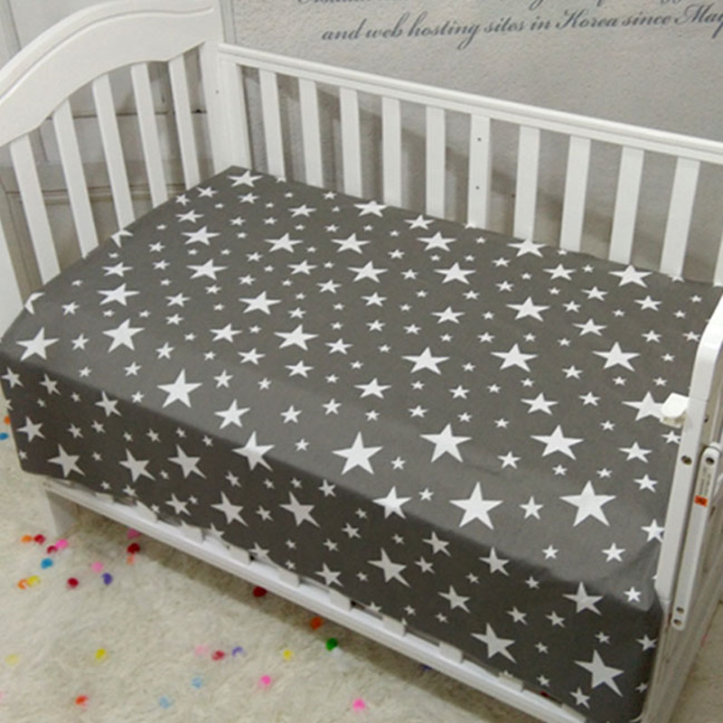 adamant ant Baby bed sheet Muslinlife Cotton Baby Fitted ...