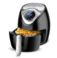 1300W 2.6L Air Fryer Pan Home Intelligent Touch Screen Electric Deep Fryer No Oil Fume Potato Chips Frying Machine Multicppker