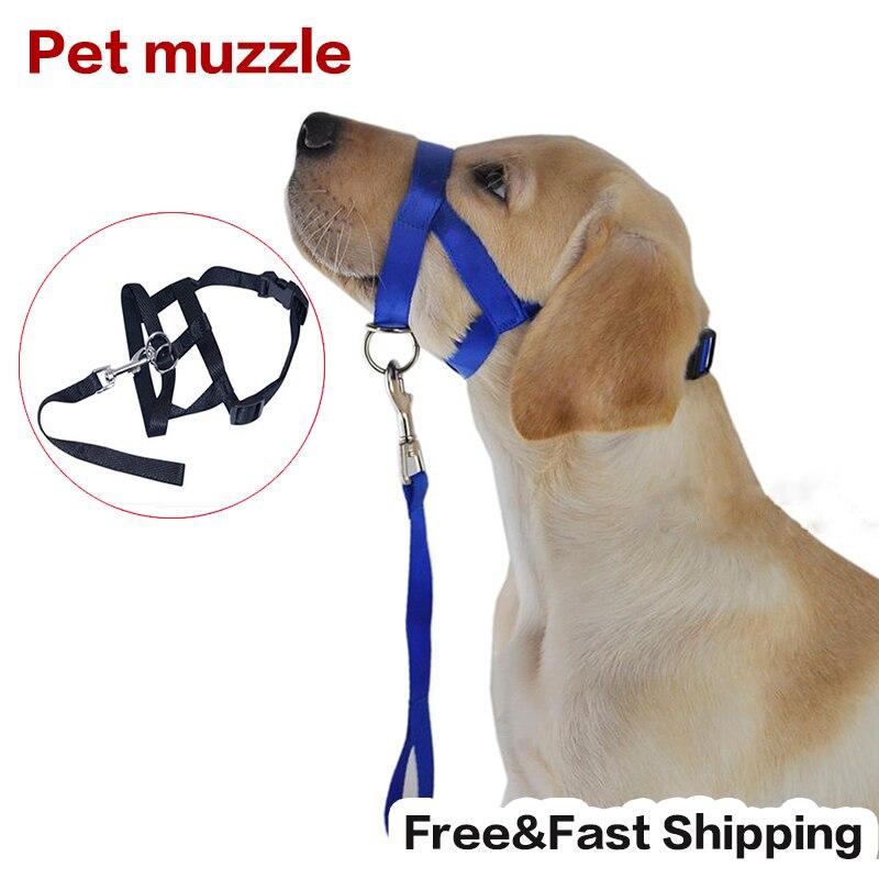 Small Dog Bark Muzzle