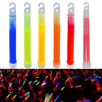 10pcs 6inch Industrial Grade Glow Sticks Light Stick Party Camping Emergency Lights Glowstick Chemical Fluorescent Hot
