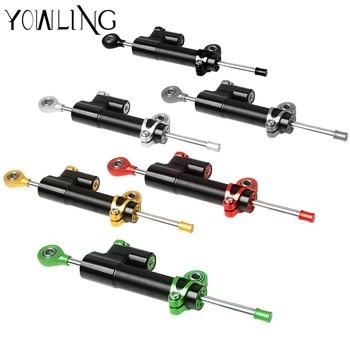 For z900 z800 z750 yamaha r6 mt07 fz6 r3 ninja 300 mt 09 xj6 Pulsar CNC Damper Steering StabilizerLinear Reversed Safety Control
