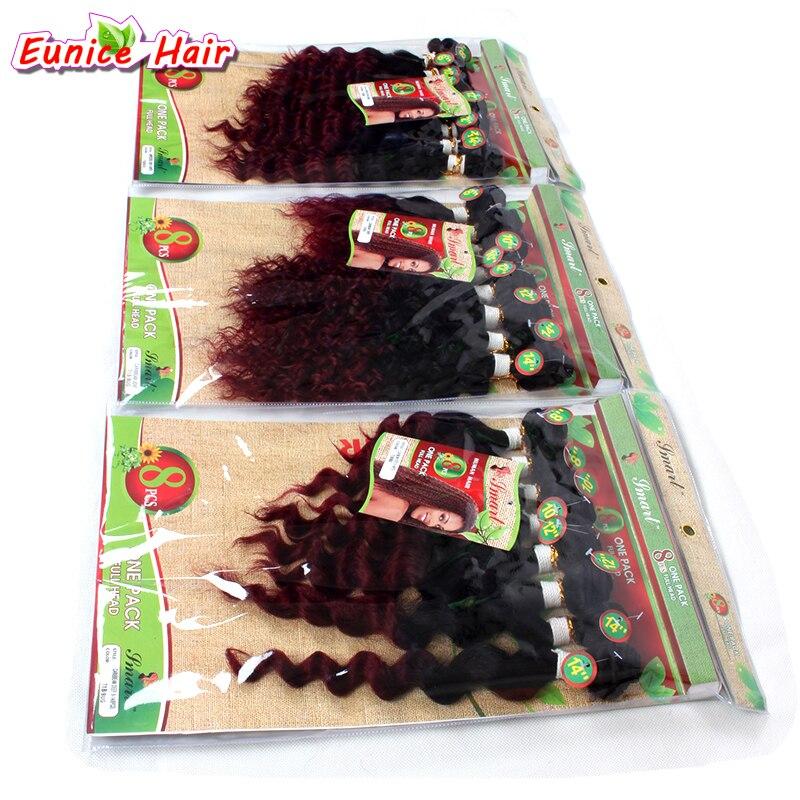 Африканский Черный Для женщин волос бразильский странный вьющиеся волосы Связки перуанский освобождает волна утка волос 8 шт. Класс 6a приче...