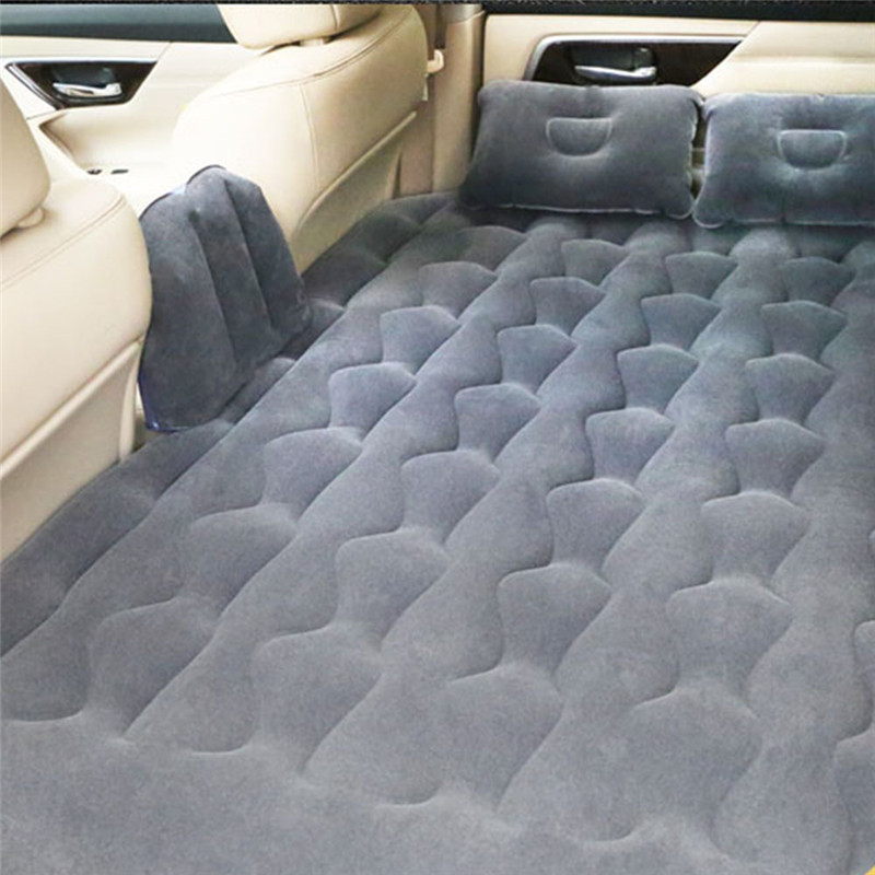 Car Cushion Seat Covers Bed Air Mattress Inflatable Travel Party Car Cushion SUV Car Back Seat Bed Cushion Mattress for SUV Car car inflatable mattress car shock bed on board flocking inflatable bed separate type air cushion bed car split car bed