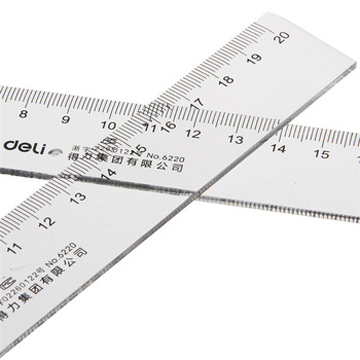 Package Post Office Supplies Effective 6220 Ruler 20 Cm Ruler Transparent Ruler Stationery