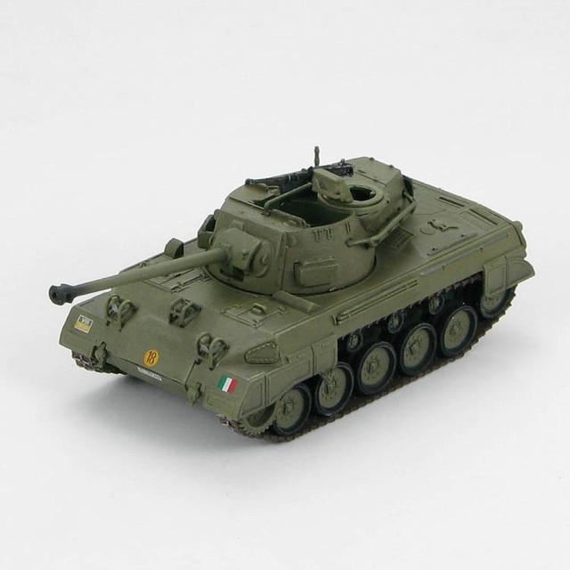 Fine HM HG6004 1/72 Mna Hellcat Tank Destroyer Alloy tank model Italian military academy Collection model
