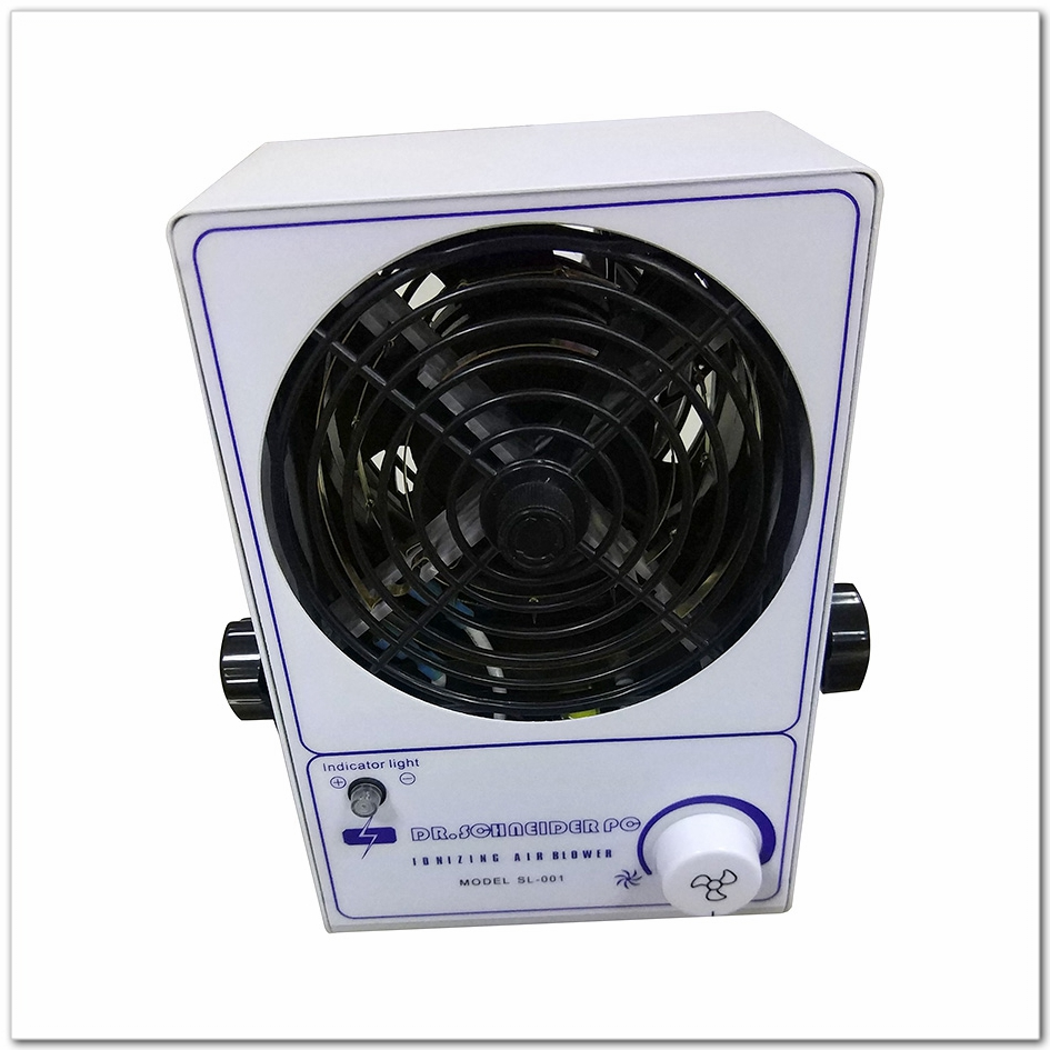 SL-001 Static Elimination Ion Blower Anti Static Small Electric Ionizer Fan Ionizing Cool Air Blower / ESD Air Blower Fan sl 001 pc esd ionizer fan esd ionizing air blower