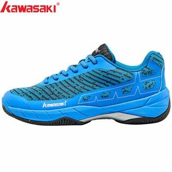 b5c867a6a20 2019 Original Kawasaki bádminton zapatos de los hombres Zapatillas  Deportivas resistente al desgaste Zapatillas transpirable de Deporte Zapatos  de deporte ...