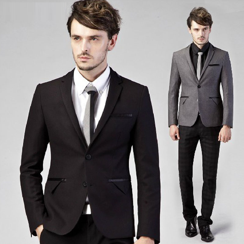 Aliexpress.com : Buy black grey red navy blue green fashion male ...