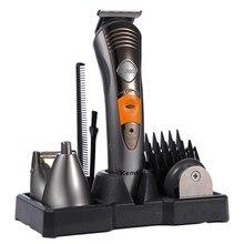 7 in 1 Family Pack Hairdresser Multifunctional Hair Trimmer Hair Clipper Shaver Body Hair Mustache Shaving Trimmer Professional