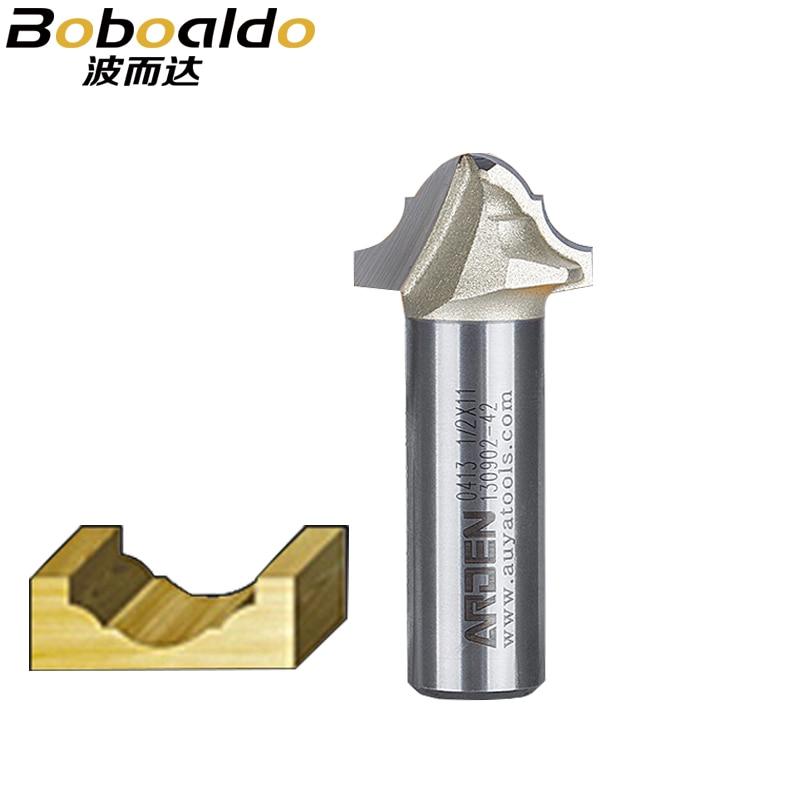 1 stücke 1/2 Klassische Plunge Cutter Miniatur Form Bits Solide Wolfram Stahl Hartmetall Schlitz Holzbearbeitung Werkzeuge Arden Router Bit